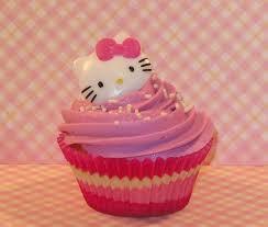 cupcake unyu banget yaa....ada hello kitty nya....,berapa WOW untuk cupcake yang satu ini?...