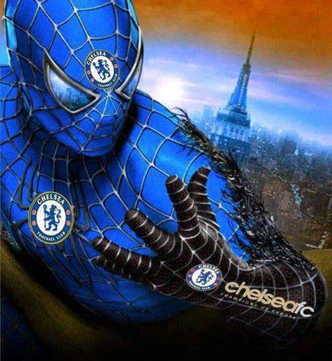 spiderman versi chelsea :) WOWnya y :)