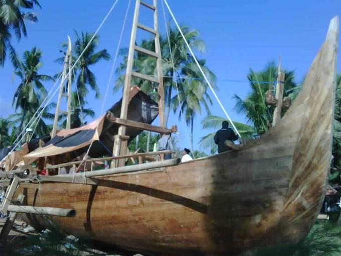 Kapal Majapahit Buatan Wraga