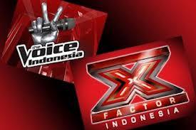 Kalian suka yg mana ?? X-Factor Indonesia Or The Voice Indonesia Bagus sih dua duanya .. tapi kalian pilih satu ya, aku mau tau pendapat kalian :)