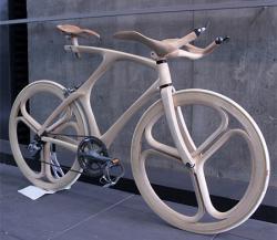 Desain Sepeda Kayu yang Keren dan Memukau