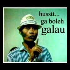 Husss Jangan Galau Yha,,, Nanti Dimarahin,,, #wkwkwkwkwk