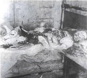 Mayat Mary Jane Kelly yang berantakan . akibat dibunuh oleh sang legenda pencabut nyawa JACK THE RIPPER WOOW follow twitter : @dika_dikaendika