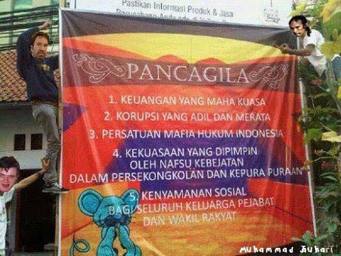 pancagila by meme comic