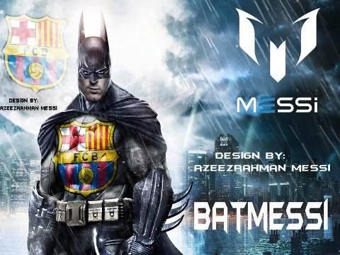 Leo Messi Batman :D COOL :)