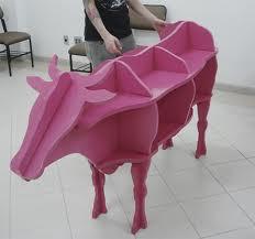 raknya unik dan lucu yaa model sapi bagi anak anak cocok banget nih buat taruh buku , aksesoris, benda benda , pajangan bagi saya rak ini mesti dapat WOW :D