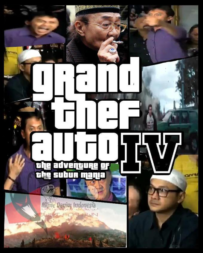 Versi terbaru nih, GTA 4 The Adventure Of the Subur mania :D