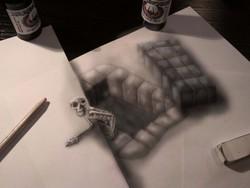 Gambar 3D yg menipu mata kita ! Wow ! Amazing...Wownya ya ! :)
