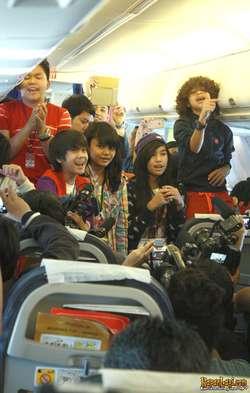 coboy junior gelar konser di pesawat konser spesial coboy junior yang ...