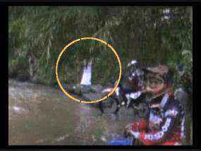 Malang - Penampakan makhluk halus muncul di Sungai Kalibendo, Jabung, Kabupaten Malang. Hantu wanita berbaju putih dan berambut panjang itu terekam kamera komunitas pecinta motor trail Roles saat akan melintas di sungai tersebut.