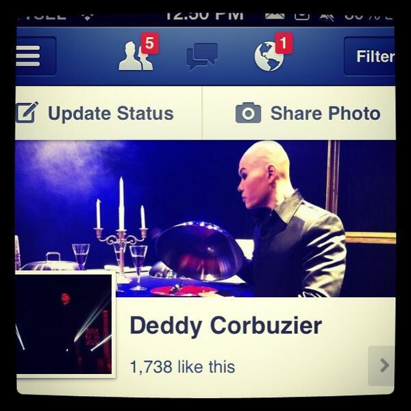 Akun Facebook Deddy Corbuzier asli facebook.com/mastercorbuzier Pasti anda dapat leluasa Question kepadanya Silahkan Chek