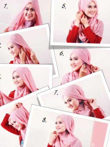 Tutorial Jilbab Simpel Nan Anggun