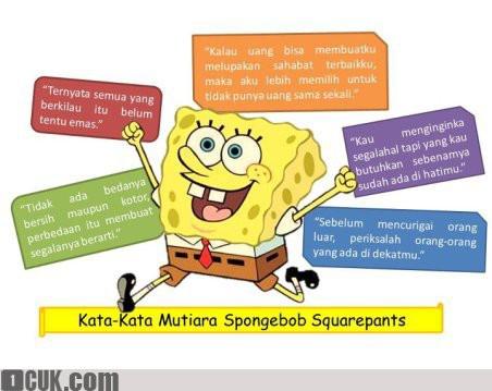 inilah kata-kata mutiara spongebob