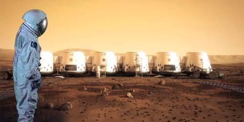 WOW SIAPA YANG MAU TINGGAL DI MARS biaya pendaftaran USD 1 juta anda berminat