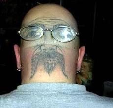 siapak gambar di belakan kepala manusia ini