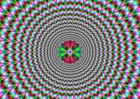 Tipuan Mata (Hipnotis) Kalian Ngerasa aneh tidak dengan gambar itu.. gambar itu kelihatannya bisa gerak kan.. jangan lupa KLIK WOW dulu... :)
