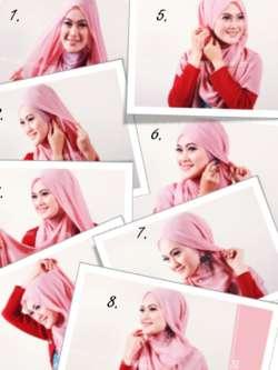 image vemale com penampilan hijab yang anggun merupakan idaman banyak