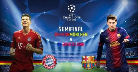 Bayern Munich - FC Barcelona, Dont miss it!