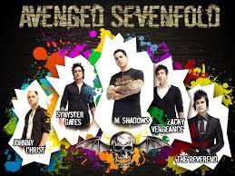 "ini adalah grup band yang bernama""Avenged Sevenfold""salah satu dari mereka yang bernama The Reverend telah meninggal dengan sebab dia mengalami serangan jantung dia mati pada tahun 2009 kalo tanggalnya kurang tau......hehehehe"