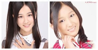 Kiri Hoshino Minami Member Nogizaka48,Kanan Rena Noza JKT48.Mirip Gak?? Wownya Kalau Mirip
