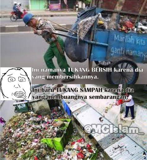 #Respect buat TUKANG BERSIH :)