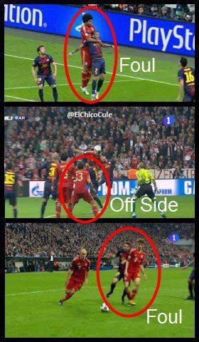Kecurangan Bayern Munchen Pada Saat Melawan Barcelona