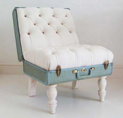 Koper yang usang apabila dimodifikasi menjadi furniture, dapat menambah nilai jual