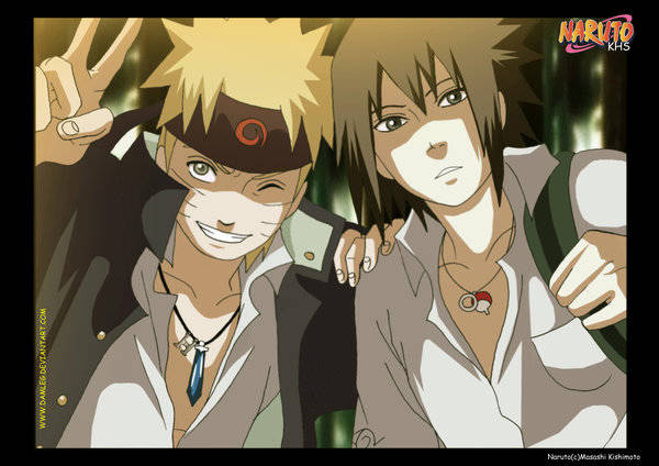 Naruto Konoha High School :D