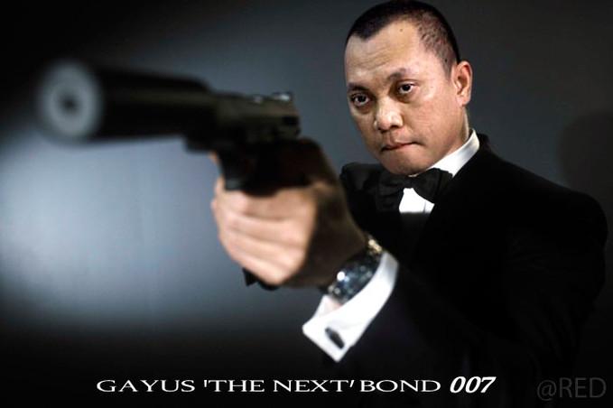 Pulsker Se-7 gk kalo Gayus Tambunan jadi Aktor Utama film James Bond 007 tahun 2013...?? Setuju gk Setuju Kasi WoWnya donk...