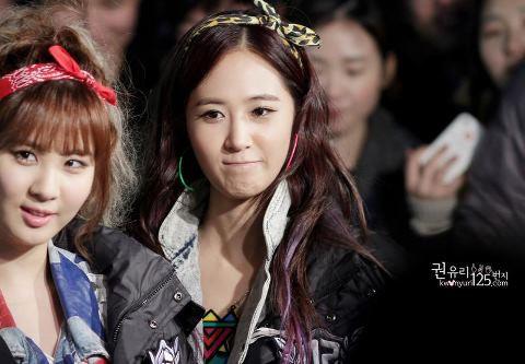Sone, Pada setuju gk kalo di foto ini Yuri jd mirip Krystal f(x) ????