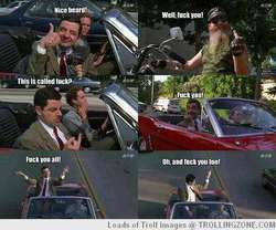well,F*CK YOU! #nohate #nobully from Mr. Bean