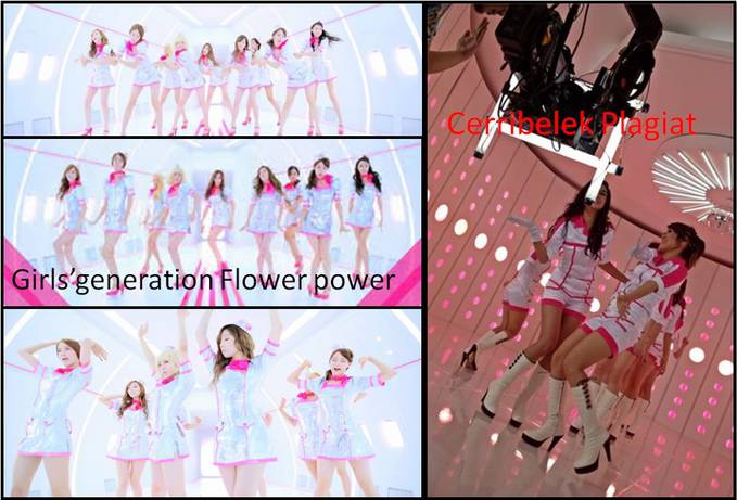 Snsd Vs Cherrybelle Plagiat Costum Flower Power