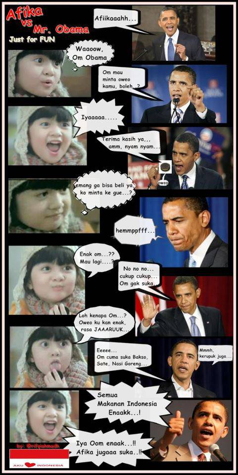 Afika Vs Mr.Obama