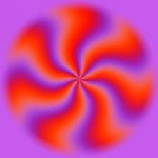 Loe Harus Bilang Wow coba lu kedip berkali - kali pasti lu liat lingkaran itu berputar