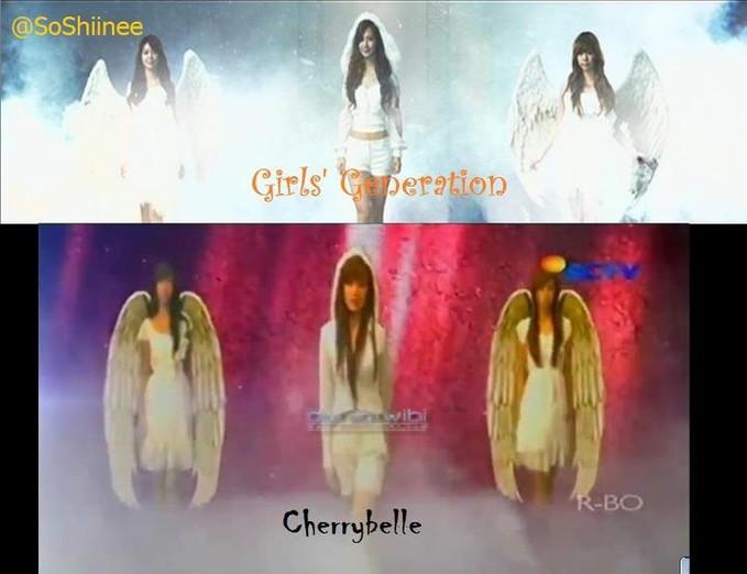 keplagiatan cherry belle cb :P snsd :) snsd :)