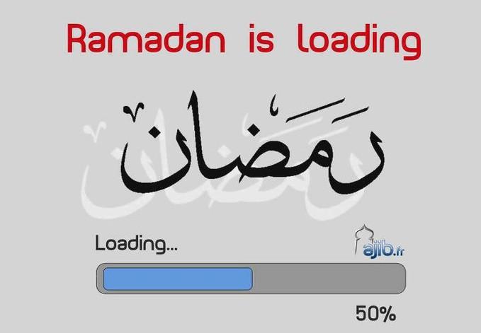 ramadan sedang loading...................