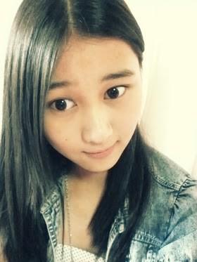 wihh rena JKT48 tanpa make up, tapi tetep kawaii kok cantik lagi