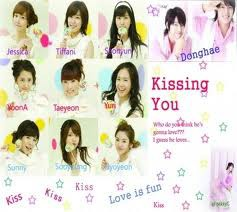 SNSD KISSING YOU AND DONGHAE