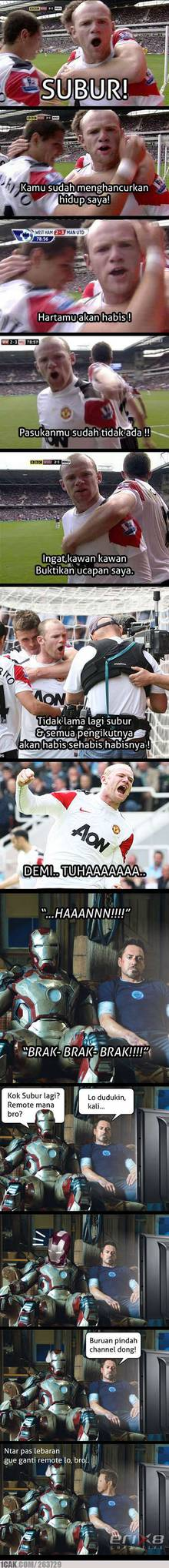 rooney wiguna vs subur demi wow