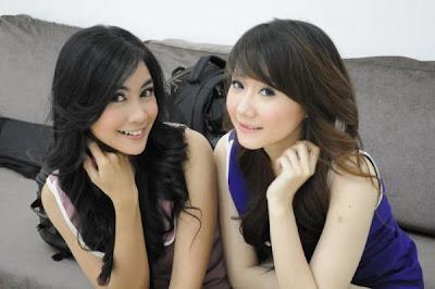 Foto Anisa dan Ryn Chibi - Cherrybelle