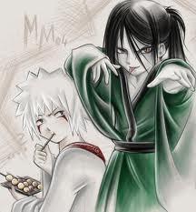 Jiraiya & Orochimaru Kid
