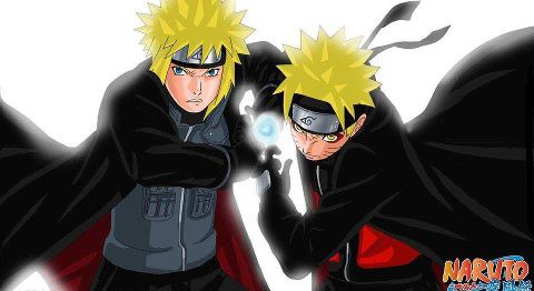 Naruto & Yondaime Rasengan