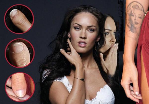 Megan Fox juga gak sempurna