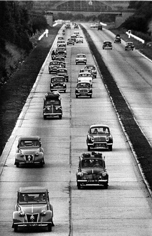 Routes de France, 1958
