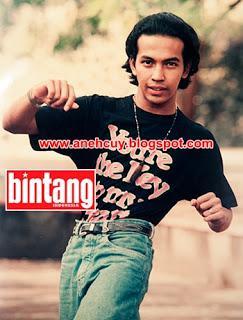 Foto mendiang Ustadz Jefri saat masih muda..
