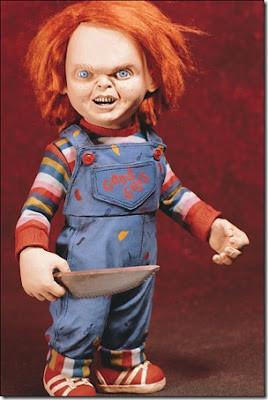 "Penggemar film akan terbesit ketakutan saat melihat ini ""Chucky Doll"" Gambar boneka ini menjadi tidak pernah takut melihat film. Mantan bos saya, mengaku ketakutan setengah mati dengan boneka ini."