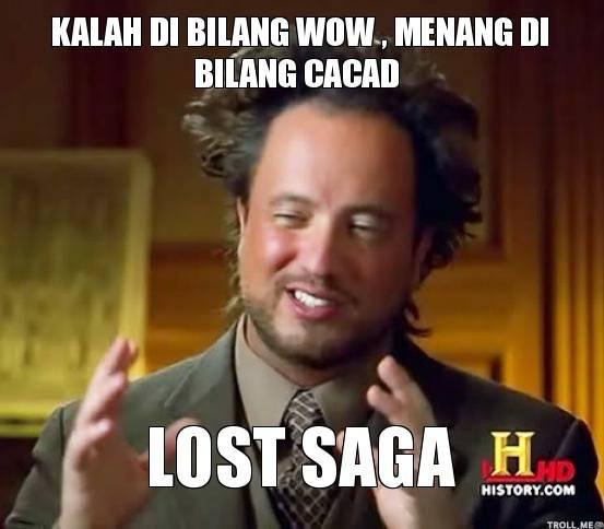 Lost saga #wownya#