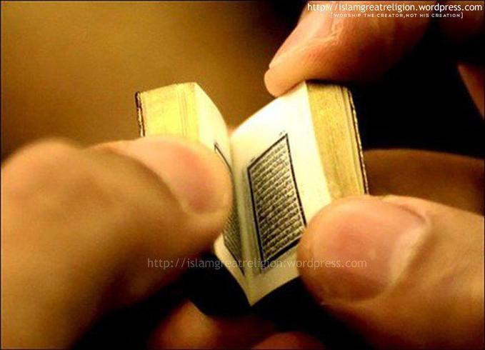 Al-Quran terkecil Didunia