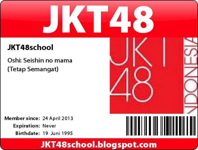 CARA BUAT ID CARD JKT48
