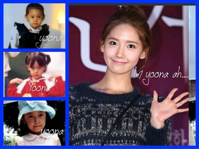 Im Yoona Ah SNSD masih cantik dari kecil hingga sekarang.